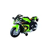Road Rippers Wheelie Kawasaki Light and Sound Bike -color may vary