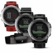 Garmin GPS Multisportuhr fenix 3 ohne Brustgurt Farbe grau - schwarz