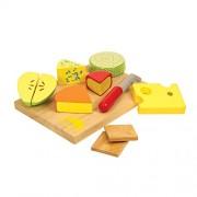 Bigjigs Toys Kit Tagliere Per Formaggi