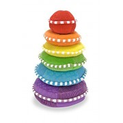 Rainbow Stacker - Plush: Classic Toys - First Play Soft Toys