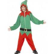 Disfarce de elfo menino Natal 7 - 9 anos
