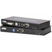 Aten DVI KVM Extender mit Audio, Dual Link (CE602)