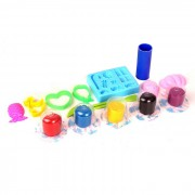 3D Colorful Non-Toxic Soft Clay Plasticine Children's Educational DIY Toy - Red + Blue + Multi-Color