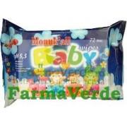 Servetele Umede Pentru Copii cu Capac Monuk 72 buc Flm Group