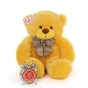 2.5 Feet Yellow Big Teddy Bear with a Bow