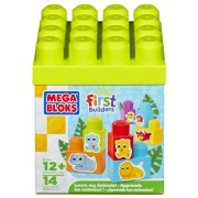 Mega Bloks, First Builders - Invata sa construiesti animale