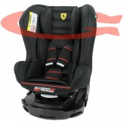 Siège Auto Ferrari Pivotant 360°Et Inclinable Made In France Groupe 0+ / 1 (0-18kg) - 4 Positions - Protection Latérales - Mycarsit