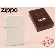 Zippo - öngyújtó matt fehér -Nyugdíjbavonulási ajándék