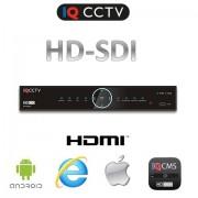 HD SDI DVR pro 8 kamer FULL HD, HDMI, VGA