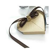 Seta Oro - Lustrous Gold Favor Boxes