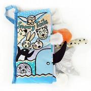 Malloom® colas animales libro de tela bebé de juguete Desarrollo Libros Aprendizaje y Educación libros (snowy tail)