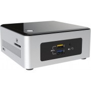 Intel NUC5PGYH 1.6GHz N3700 Nettop Black,Silver Mini PC