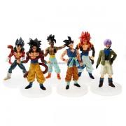 Dragonball Anime Figuras (6-Figure Set)