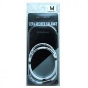 M-Kaep Германиевое ожерелье с антистатическим эффектом, размер М - 46 см, цвет - белый.
