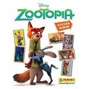 Zootopia Sticker Album - Includes 10 Bonus Stickers