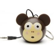 Boxa Portabila KitSound MyDoodle Characters Monkey, Jack 3.5mm (Maro)