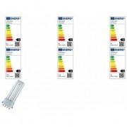 OSRAM Kompaktleuchtstofflampe DULUX S/E, 11 Watt, 2G7
