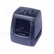 """""""EC718 2.36 """"""""TFT LCD de 5MP / 10MP USB 2.0 de 35 mm de Cine de explorador / del convertidor - Negro"""""""