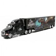 Jada Toys Jurassic World Indominus Rex 1:64 Peterbilt 387 Hauler Vehicle G. Black