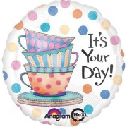 """18"""" Tea Cup Its Your Day Hx Petite"""