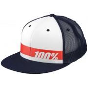 100% Bonneville Trucker Hat navy Kappen