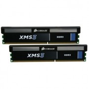 Memorie Corsair 8GB (2x4GB) DDR3, 1333MHz, CL9, Dual Channel Kit, CMX8GX3M2A1333C9