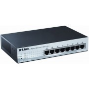 D-link 8 x 10/100Mbps Web Smart Switches