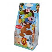 Biscuiti Buongiorno Bio ZooParty din spelta, orez si cacao (produs vegan) 350g