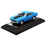 Modellino Auto FORD MAVERICK GT 1974 LIGHT BLU Scala 1:43 PremiumX Auto Stradali