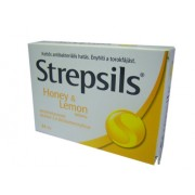 Strepsils Honey and lemon torokfertőtlenítő tabletta 24x *