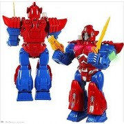 Android Robot Toy Red Robotics Toys Fighting Walking Spinning Light Up Sound Boys Girls Kids