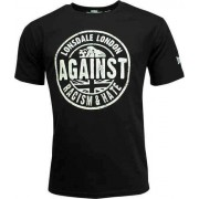 Lonsdale Against Racism T-shirt Negro