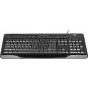 Tastatura Multimedia Tracer Stiletto TRK-185 Neagra