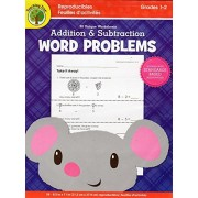 Addition and Subtraction Word Problems Reproducible Workbook - Grades 1-2