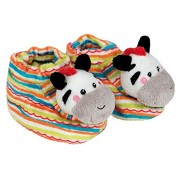 Happy People 40853 - Fisher Price Rattle Zebra Shoes