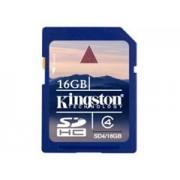 Kingston SDHC Card Class4 16GB memóriakártya
