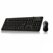 Kit Tastatura + Mouse Cu Fir Gigabyte KM 3100 Negru