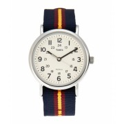Timex T2P234 Silver-Tone Blue Watch 6