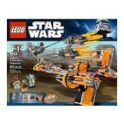 LEGO Star Wars Anakin Skywalker and Sebulba's Podracers 810pieza(s) - juegos de construcción (Película, Multicolor)