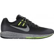 Nike Air Zoom Structure 20 Shield Running Shoe Men Black/Metallic Silver-Darkk Grey 48,5 Neutral Laufschuhe