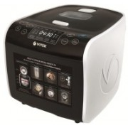 VITEK VT-4209 BW-I Deep Fryer, Food Steamer, Rice Cooker, Slow Cooker, Travel Cooker(5 L, Black & White)