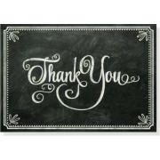 Chalkboard Thank You Notes (Stationery, Note Cards, Boxed Cards) by Peter Pauper Press Inc