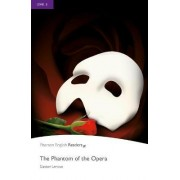 Level 5: The Phantom of the Opera Book and MP3 Pack by Gaston Leroux