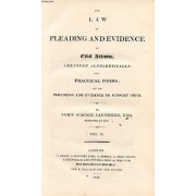 The Law Of Pleading And Evidence In Civil Actions, Vol. Ii
