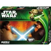 "Noris Spiele 606031145 - Star Wars Episodio 2&3, Puzzle ""Obi Wan vs Anakin"", 1000 pezzi"