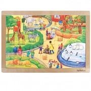 Hape 12010 - Puzzle Cornice Zoo