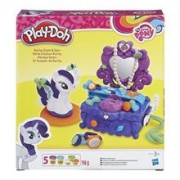 Jucarie Play-Doh My Little Pony Rarity Style and Spin Playset