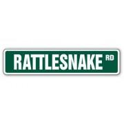 RATTLESNAKE Street Sign rattle snakes snake hunter