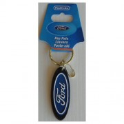 """Keychain - Ford Logo Rubber"""