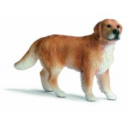 Schleich Male Golden Retriever Toy Figure